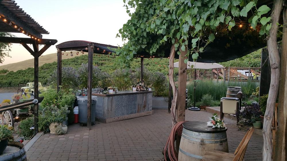 Taber Ranch patio