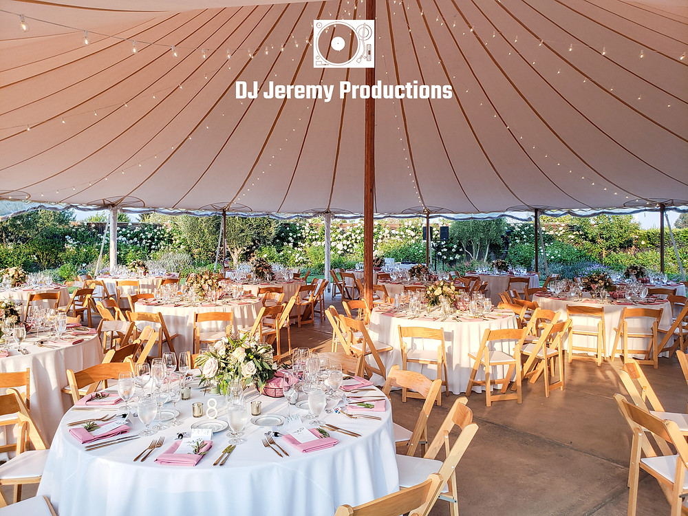 Cornerstone Sonoma Wedding Tent