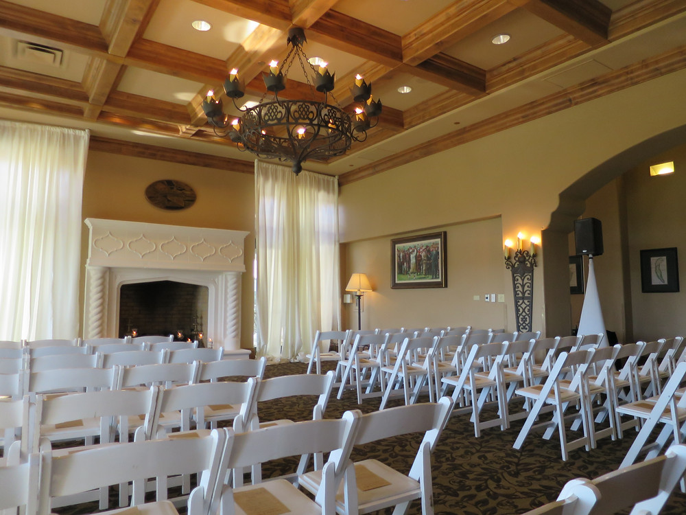 Bridges Golf Clubhouse wedding ceremony San Ramon wedding DJ