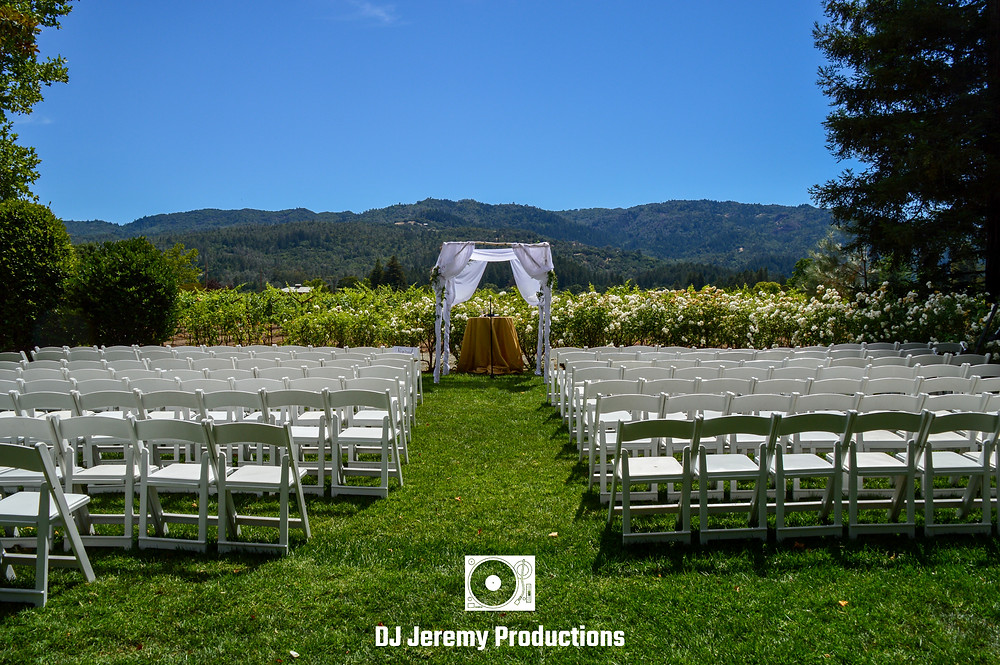 Harvest Inn Wedding Photo