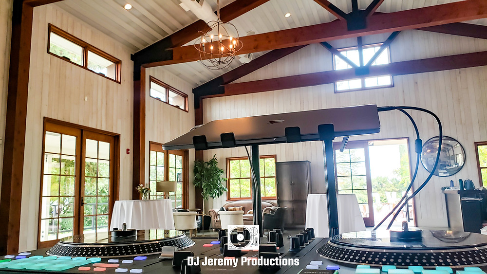 Park Winters DJ event barn