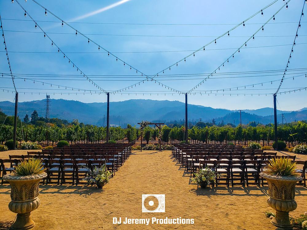 Tre Posti Vineyard Wedding Ceremony