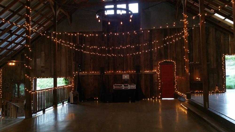 Taber Ranch wedding DJ