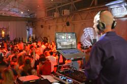 Craneway Pavilion DJ