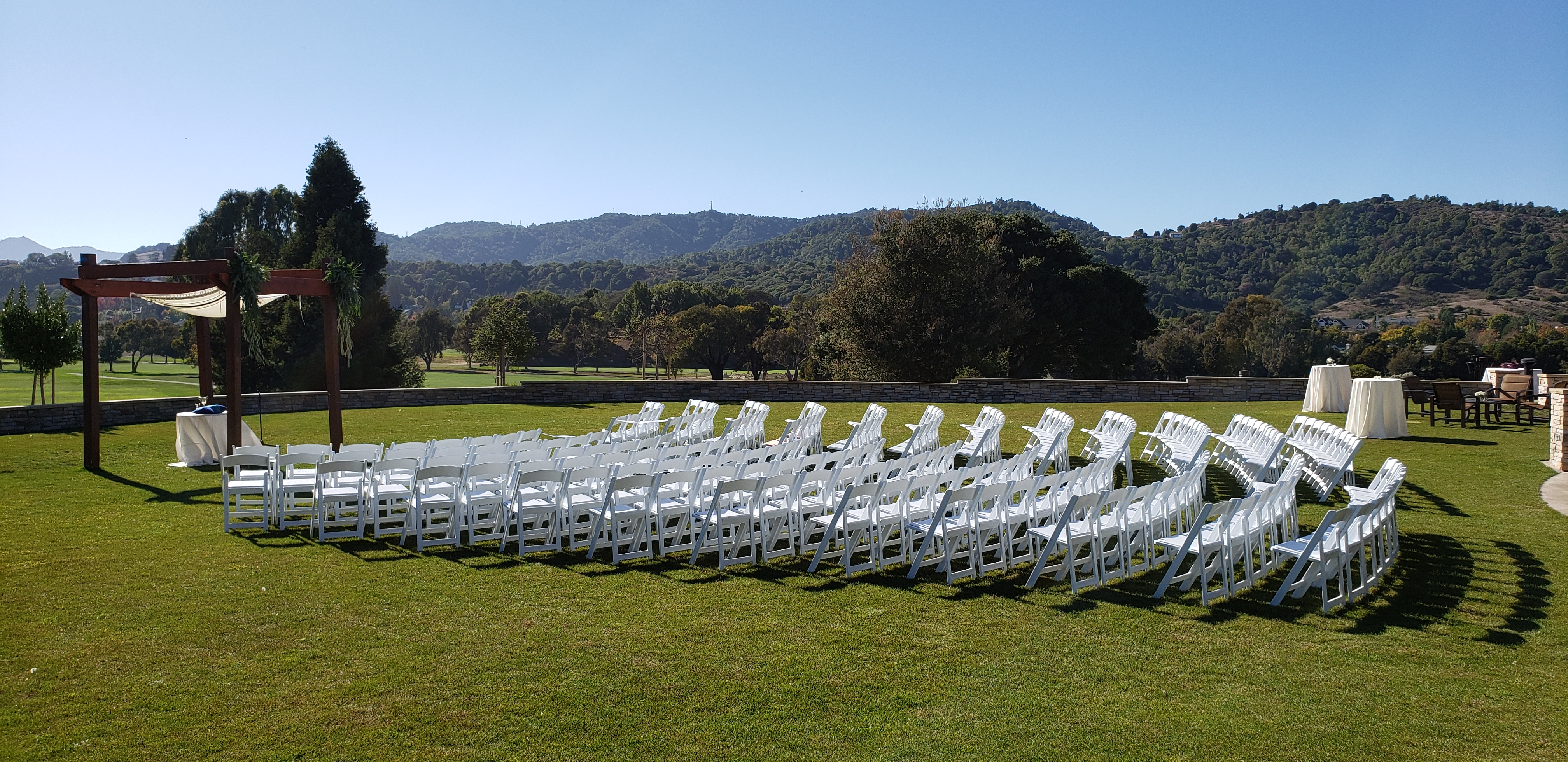 Peacock Gap Golf Club Wedding DJ Photo