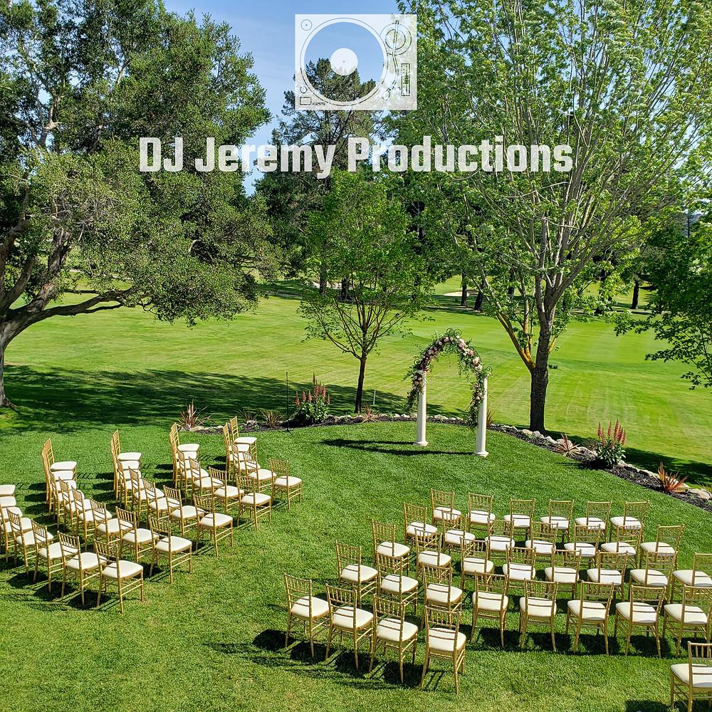 Sequoyah Country Club wedding photo