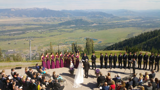 Jackson Hole Mountain Resort Wedding - August 2015