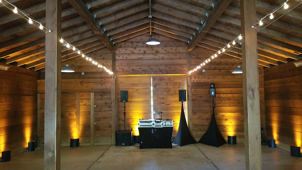 Cornerstone Sonoma Wedding DJ and Uplighting