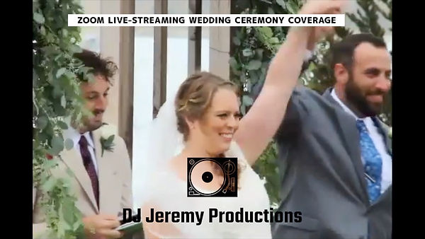 San Francisco Bay Area Zoom Wedding Virt