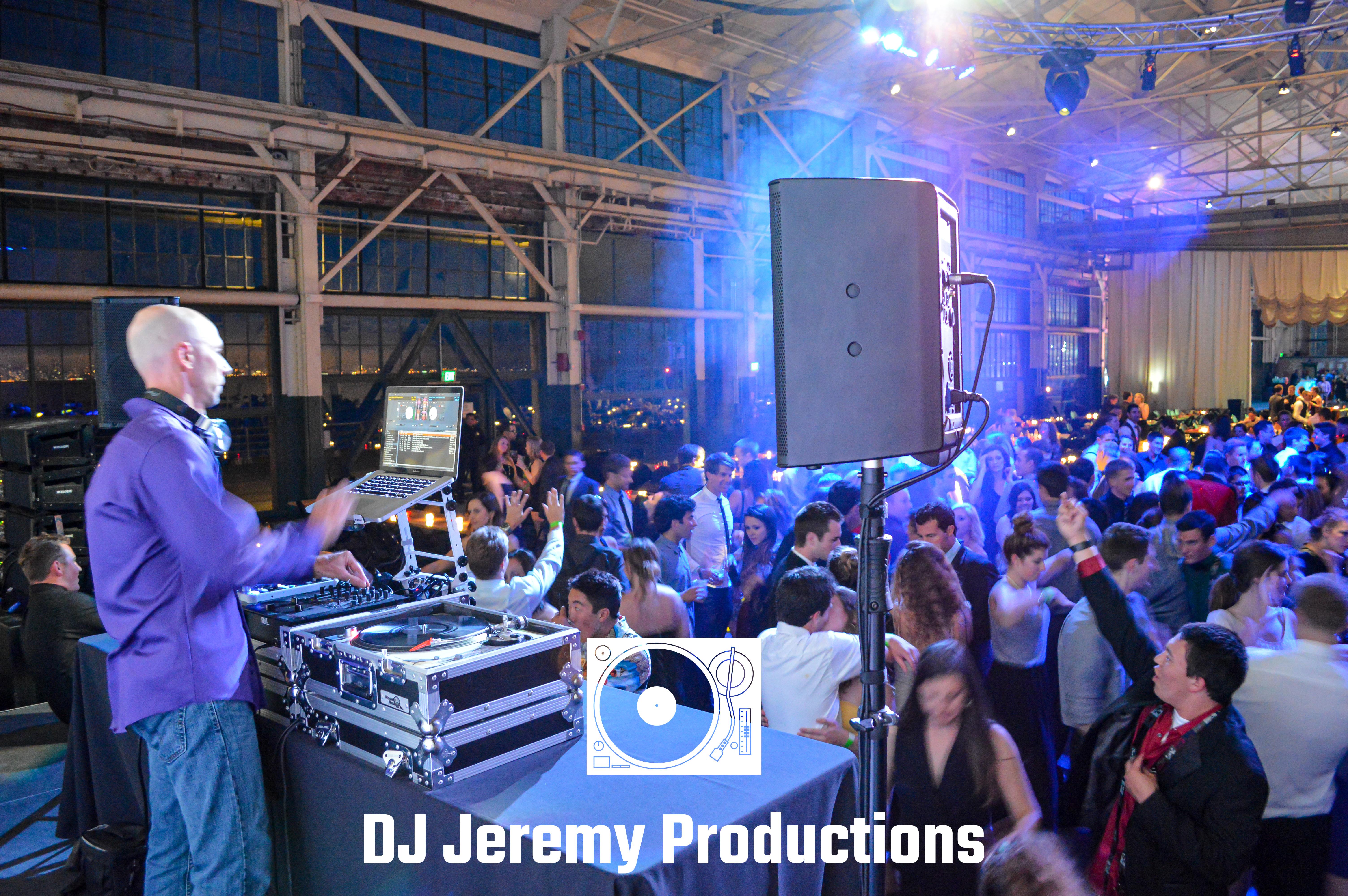 Craneway Pavilion DJ Jeremy Productions.