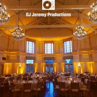 Peninsula Golf and Country Club Wedding Lighting