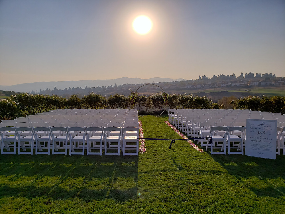 San Ramon wedding DJ Bridges Golf Club wedding cost