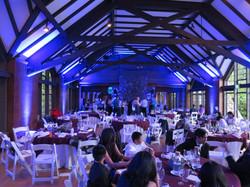 Brazilian Room wedding lighting