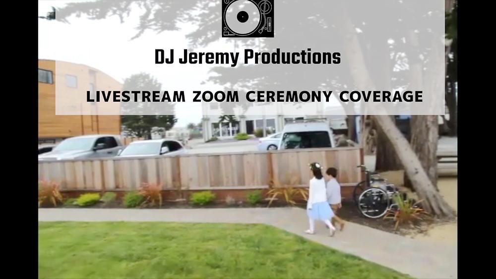 San Francisco Bay Area Zoom Ceremony Wedding