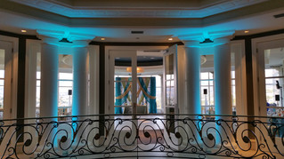 Silver Creek Valley Country Club Wedding - DJ and uplight service