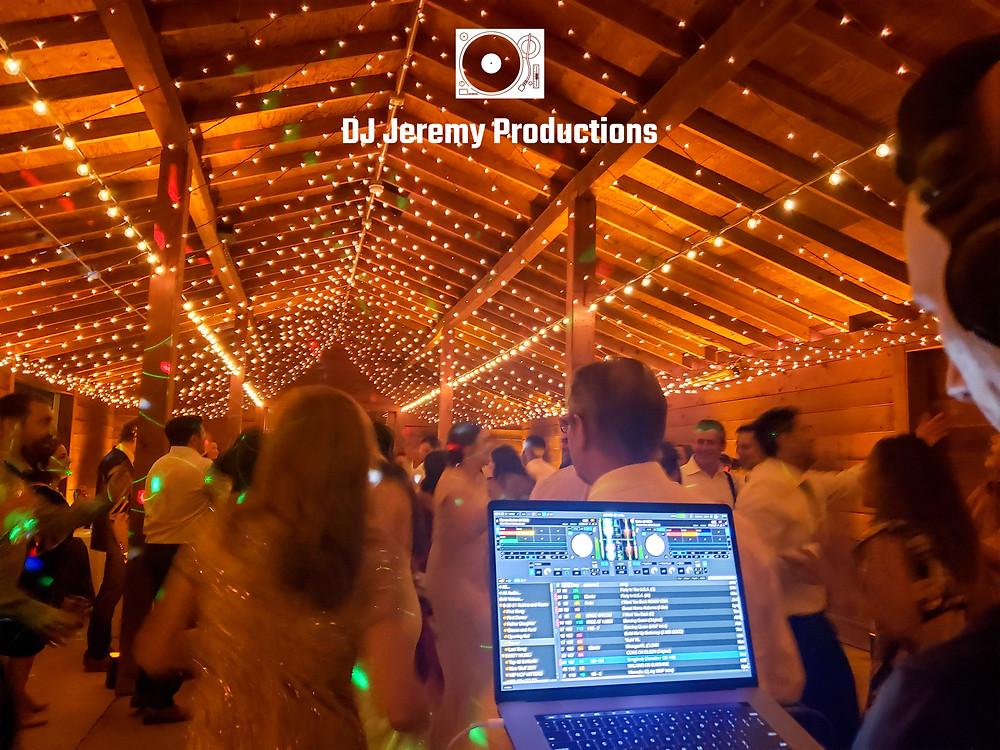 Cornerstone Sonoma wedding barn dance party