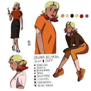 Oriana reference