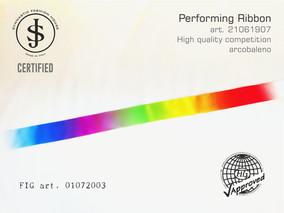 Nastro da ritmica 21061907 Fig art. 01072003 € 18,00 fig approved