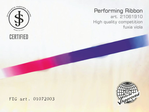 nastro sfumato Nastro da ritmica 21061910 Fig art. 01072003 € 18,00 fig approved