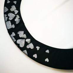 Copricerchio Art Glitter art.03121802-NAB-HEARTS € 20,00