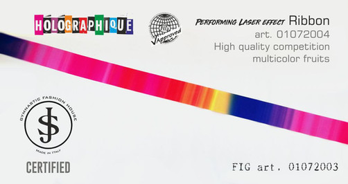 nastro Nastro da ritmica 01072004 Fig art. 01072003 € 18,00 certified e fig appro