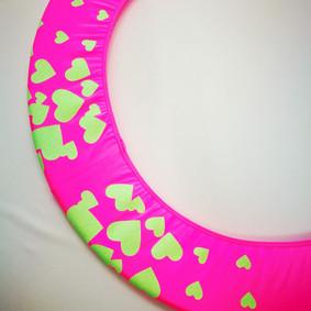 Copricerchio Art Glitter art.03121802-FVE-HEARTS € 20,00