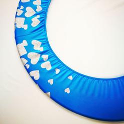 Copricerchio Art Glitter art.03121802-AAB-HEARTS € 20,00