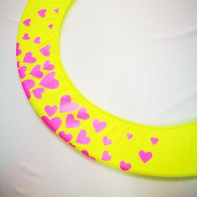 Copricerchio Art Glitter art.03121802-GRO-HEARTS € 20,00