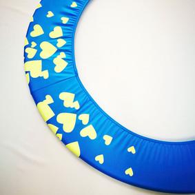 Copricerchio Art Glitter art.03121802-AGF-HEARTS € 20,00