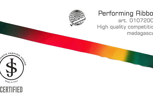 Nastro da ritmica art. 01072007 multicolor madagascar
