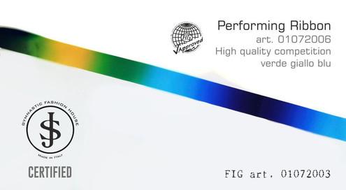 Nastro da ritmica 01072006 Fig art. 01072003 € 18,00 fig approved