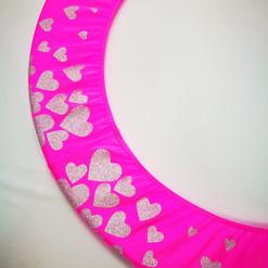 Copricerchio Art Glitter art.03121802-FAR-HEARTS € 20,00