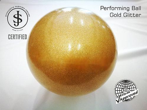 Palla da ritmica oro glitter