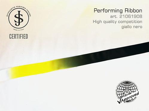 Nastro da ritmica art. 21061908 multicolor giallo nero
