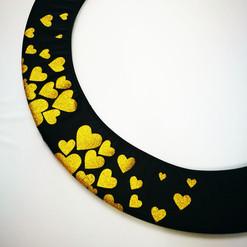 Copricerchio Art Glitter art.03121802-NOR-HEARTS € 20,00