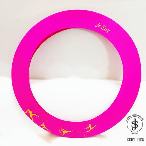 Copricerchio Art Glitter art.09022104 My Rhythmics fuxia/oro