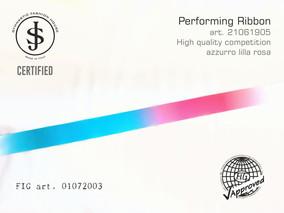 Nastro da ritmica 21061905 Fig art. 01072003 € 18,00 fig approved