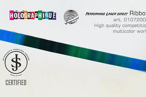 Nastro da ritmica Holographique art. 01072002 multicolor world