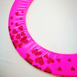 Copricerchio Art Glitter art.03121802-FRS-HEARTS € 20,00