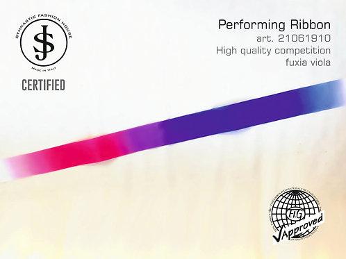 Nastro da ritmica art. 21061910 multicolor fuxia viola