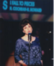 "Morgan Vaughan as Patsy Cline in ""A Closer Walk with Patsy Cline"""""