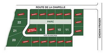 Développement résidentiel en Beauce