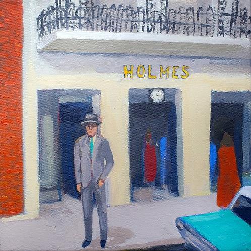 D H Holmes Portrait