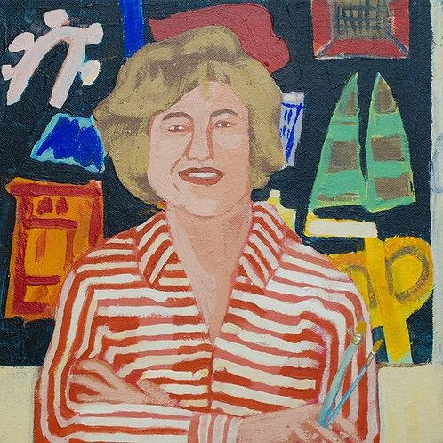 Ida Kohlmeyer Portrait