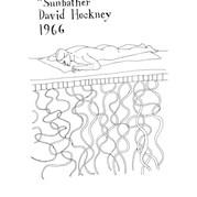 David Hockney - Sunbather