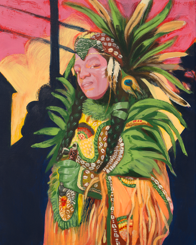 Feed The Second Line - Mardi Gras Indian  {SOLD]