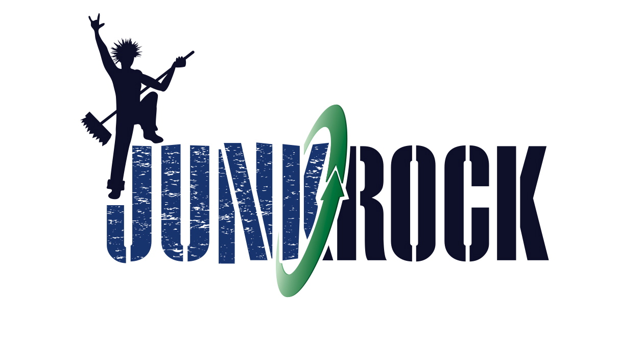 Junk Rock horizontal logo