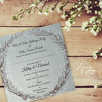Seasonal Wedding Invitations