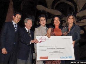 APANTALLADOS gana                               el Premio UNICEF 2009