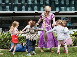 tangled party perth